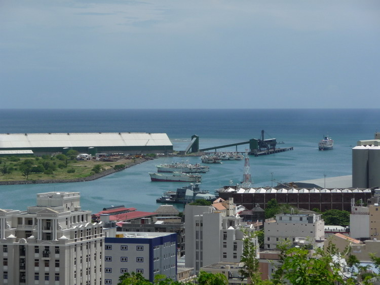 Port Louis kikötője